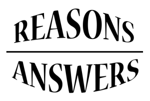 REASONS-aNSWERS
